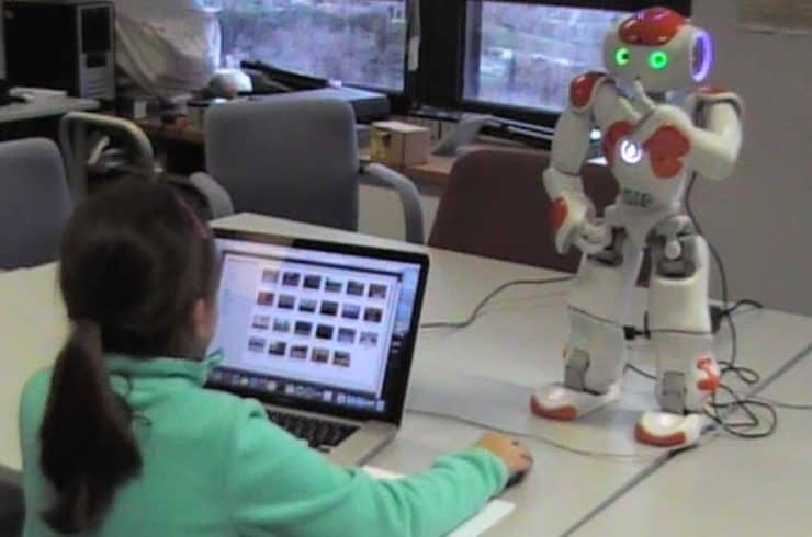 Artie, the Robot Tutor