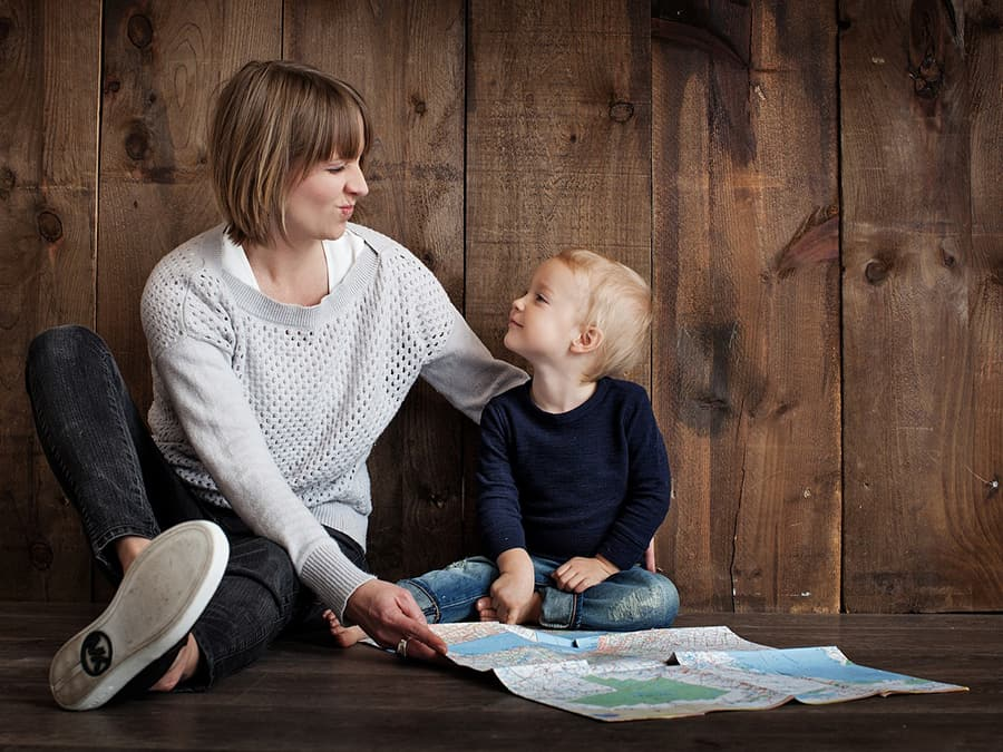 The relationship between a parent's words and child